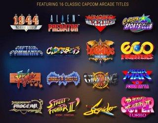 Capcom представила мини-консоль Home Arcade