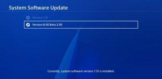 Бета-тестирование прошивки 8.00 для PlayStation 4
