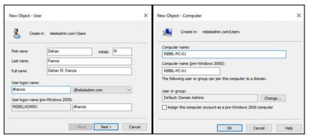 Понимание объектов Active Directory