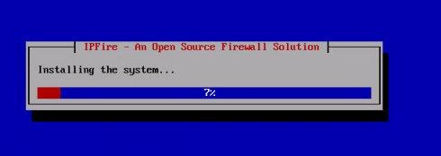 Установка ipfire (Linux)