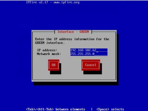 Настройка сети ipfire (Linux)